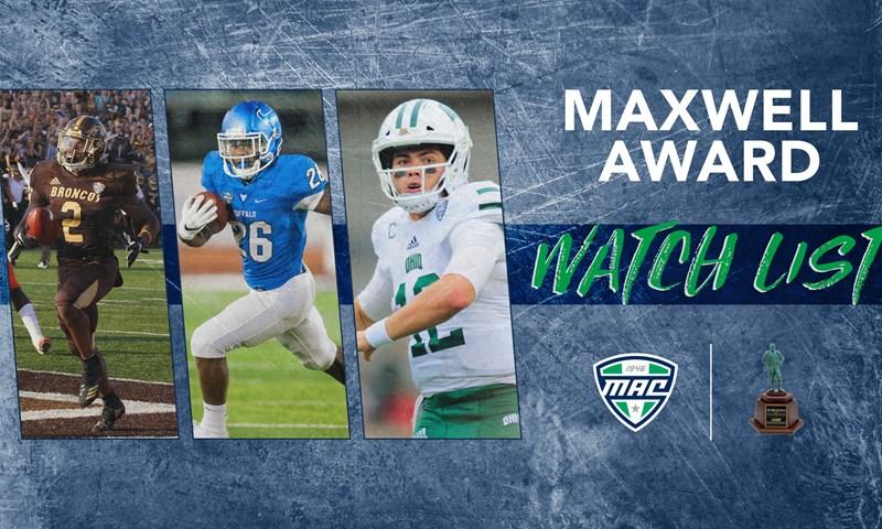 Three MAC Students Named To 2019 Maxwell Award Watch List